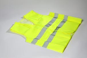 Veiligheidsvestjes EN ISO 20471 Geel