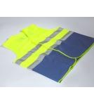 Veiligheidshesje EN 20471 BHV Blauw-geel