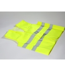 Security vests EN ISO 20471 Yellow